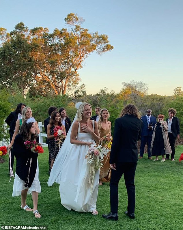 Just married!Kevin and Sophie tied the knot in a top-secret ceremony in February last year