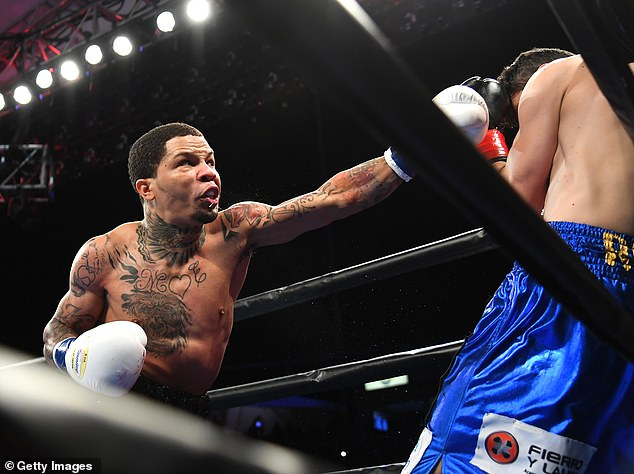 The 24-year-old showed all his skills in California with a knockout win against Hugo Ruiz