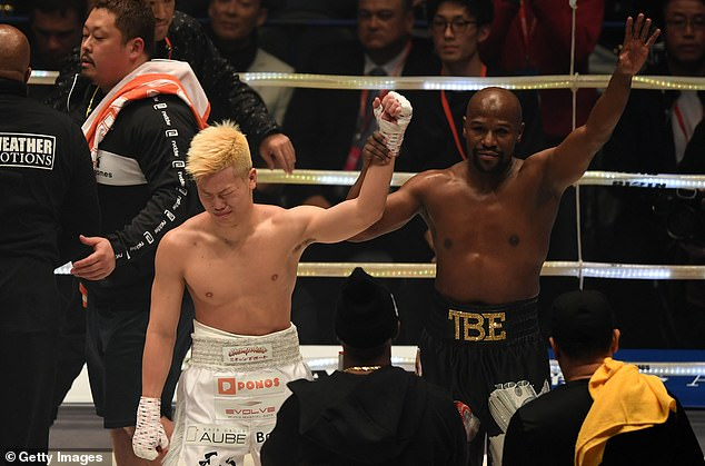 Nasukawa was left in tears after the farcical bout but he now appears set to take on Davis