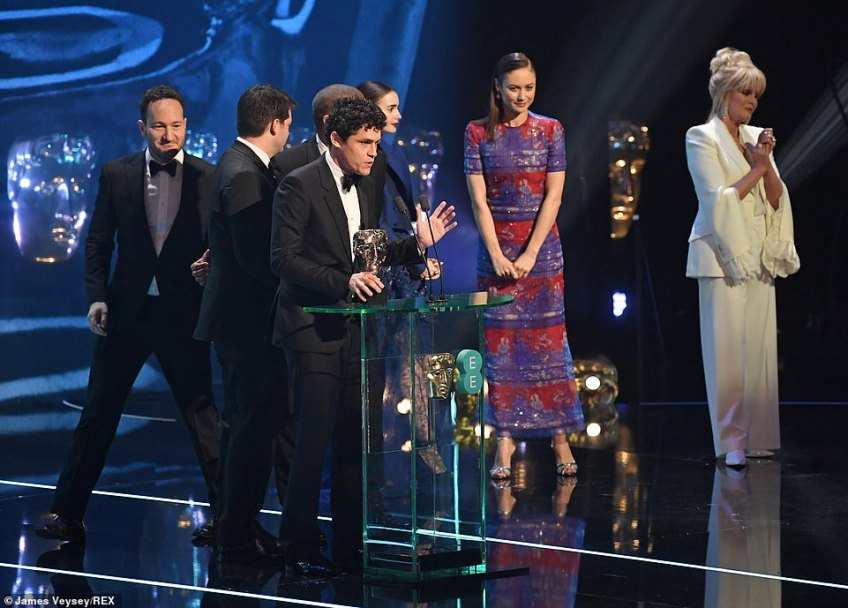 Spiderman: Into the Spiderverse, which has previously done well at earlier awards ceremony's, was given the Best Animation accolade at the glitzy awards ceremony (Bob Persichetti, Peter Ramsey, Rodney Rothman and Phil Lord picked up the gong)