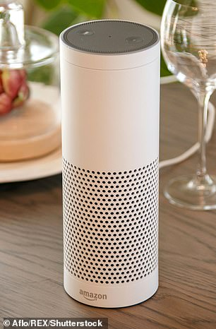 Devices like Amazon's Alexa (pictured), Microsoft's Cortana and Apple's Siri are becoming crucial health tools