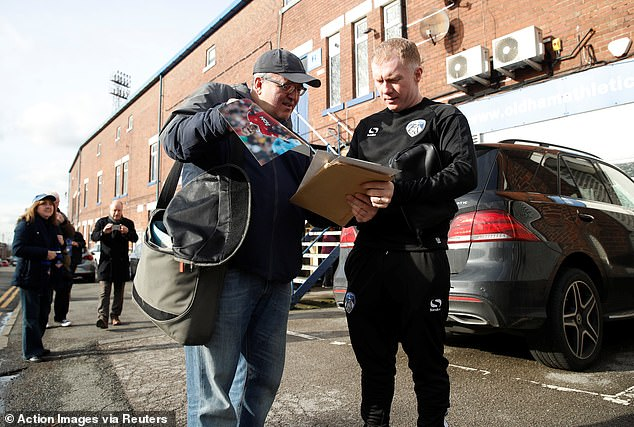 The former England international midfielder has agreed an 18-month contract at the club  Paul Scholes reveals why he is worried about Jose Mourinho as he begins his managerial career 9672468 6691505 image a 21 1549893515555