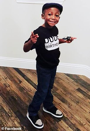 Now Ayden pictured) needs a life-saving bone marrow transplant as he fights an inherited blood disorder