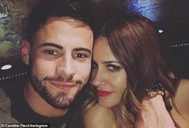 All over: Caroline's engagement toThe Apprentice and Celebrity Big Brother star Brady ended before Christmas