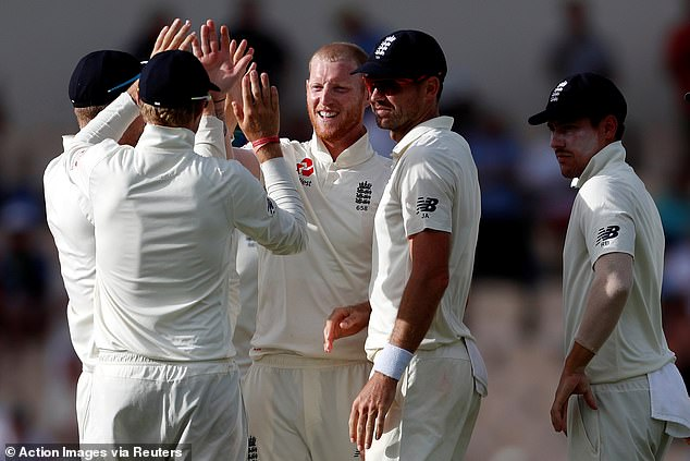 Ben Stokes took the final two wickets as England finally saw off the West Indies tail on day four