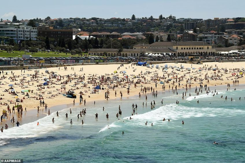 The NSW Rural Fire Service has implemented fire bans in the far north of the state. Pictured: Bondi Beach