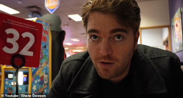Famed YouTuber Shane Dawson released a viral video Monday sharing his longtime conspiracy theory about Chuck E Cheese pizza