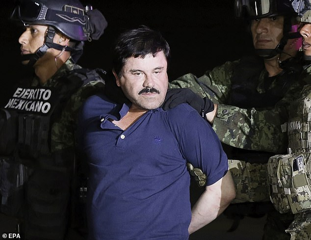 El Chapo was last captured in Mexico in 2016 after more than a year on the run. He has twice escaped from prison over the last 20 years to humiliate the Mexican authorities he and his associates have long claimed are corrupt