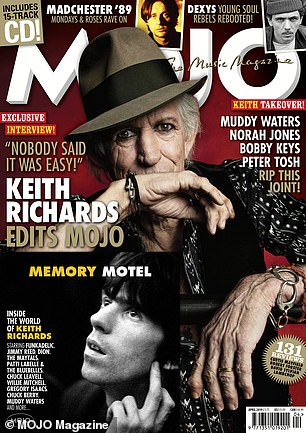 MOJO will be appearing on the kiosks on February 19th. An exclusive preview edition is available now from greatmagazines.co.uk/keithrichards