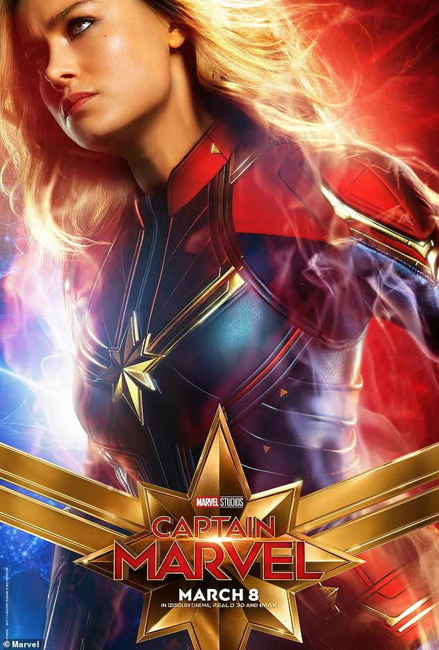Excited? The Golden Globe winner managed to beat out Emily Blunt, Natalie Dormer, Katee Sackhoff, Katheryn Winnick, and Rebecca Ferguson for the role of Captain Marvel