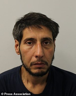 Abdulah Husseini (pictured) denied charges of stealing a wallet from a Blackpool restaurant and attempting to use a stolen Halifax card five times in court this year