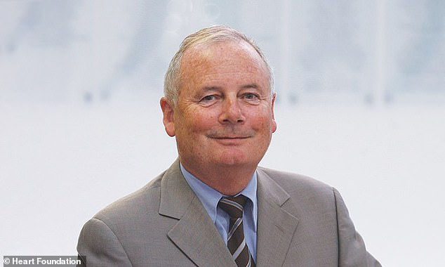 Heart Foundation chief medical advisor Professor Garry Jennings (pictured) encourages people to reduce their risk of a heart attack