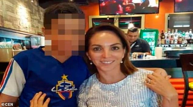 The body of Susana Carrera (picture) was beheaded in a garbage bag in a street of her hometown Coatzacoalcos