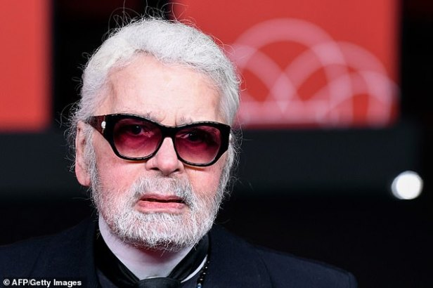 Rest in peace: Karl Lagerfeld has died aged 85 in France, according to Paris Match magazine