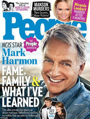 Mark Harmon talks to People 32 years after Sexiest Man Alive cover