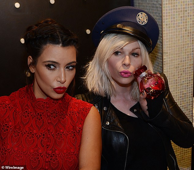 A long relationship: Makeup artist Joyce Bonelli worked with the Kardashians for a decade