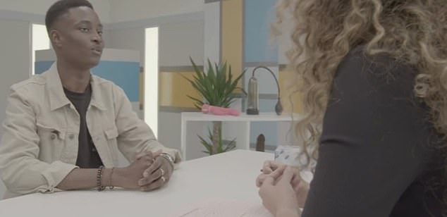 Ar the end of the programme Doctor Naomi asked Ayo to speak to his GP about getting a possible ultrasound to locate his testes