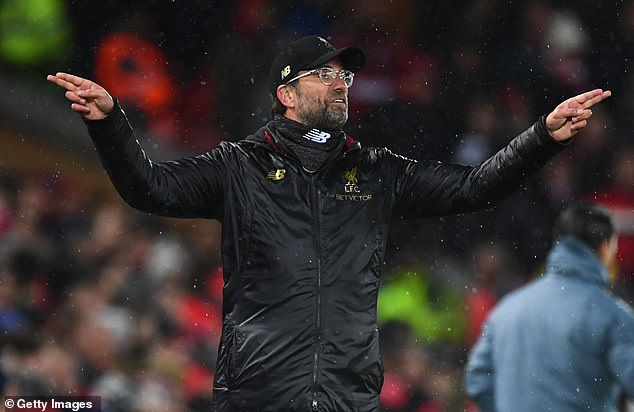 Klopp  is looking for Liverpool to produce their most compelling performance of 2019