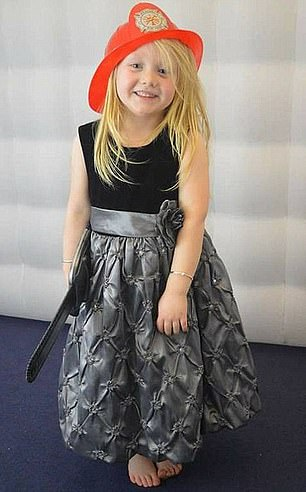 Alesha MacPhail, six, is pictured above. A seasoned pathologist said he had never encountered such ¿catastrophic¿ injuries in his entire career