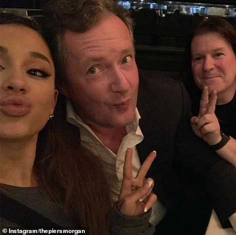 Ariana, 25, squeezed into our banquette table at the Ocean Prime steakhouse in Beverly Hills and said: 'I want to persuade you to be a feminist - a proper one'. ¿I AM a proper one,¿ I said, leading to a big debate