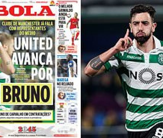 Manchester United Make Contact With Agents Of Sporting Lisbons