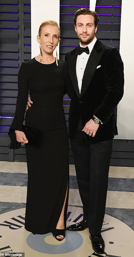 Love: The couple looked very much in love in their simple and well-co-ordinated ensembles