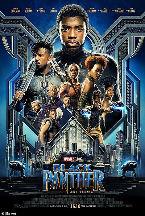 From Marvel to Maxine! In addition to editing her image into the posters, Bryan and Alex replaced the movies' titles with cheekier options in honor of the new lead. Black Panther was changed to Fluffy Corgi