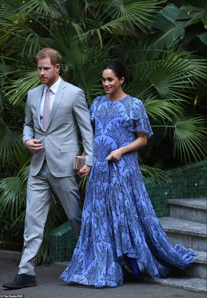 The Duke and Duchess of Sussex arrive at the King's residence in Rabat, marking their final evening.The Duchess, who has made women's empowerment a key part of her work, has discussed issues facing women during her trip to Morocco