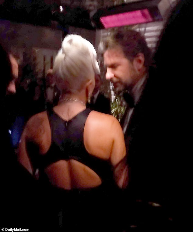 And these behind the scenes photos will provide more proof for fans who are convinced newly single hitmaker Gaga has her sights set on her A Star Is Born co-star