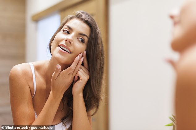 'The mistake is people squeeze from the top and graze their skin,' Anna said - instead you should wrap tissues around your fingers and apply pressure from the sides (stock image)