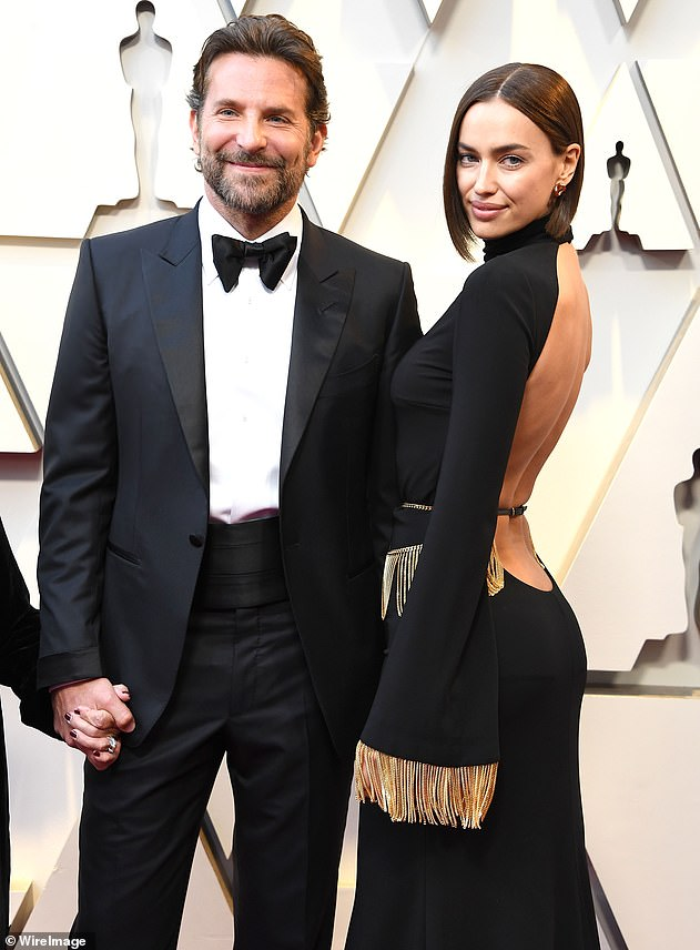 Strong partnership: The Silver Linings Playbook star has been together with Irina since early 2015 and they looked very loved up when they arrived with one another at Sunday's Oscars