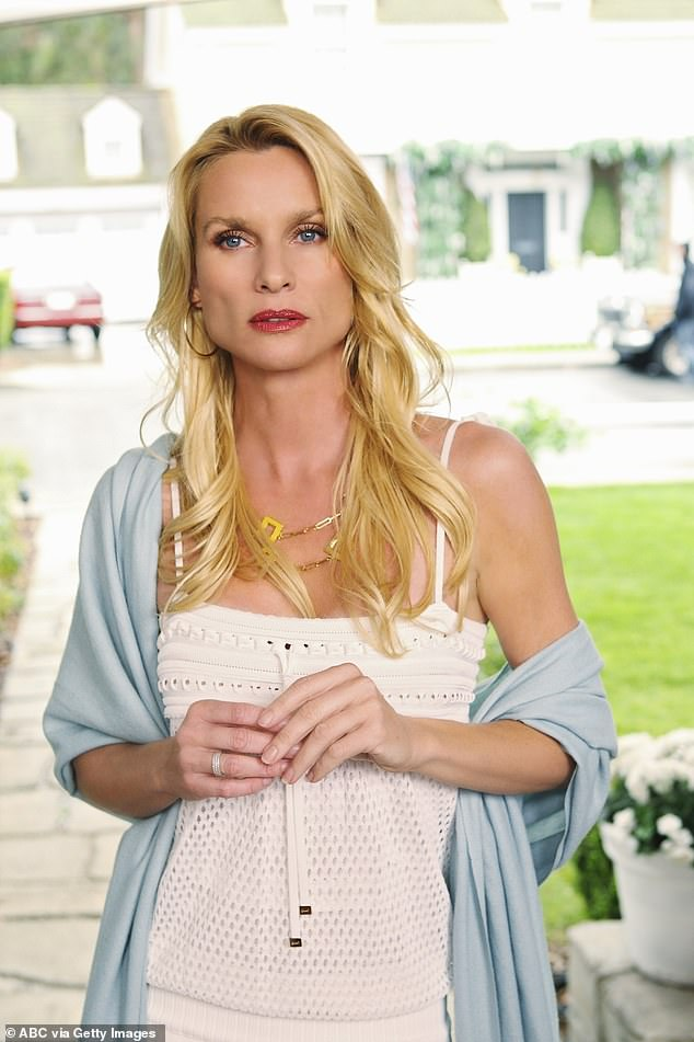 Sad time: Nicollette Sheridan is leaving the Dynasty reboot. The announcement was made on Tuesday by The CW and CBS Television as well as the star. 'Working on the Dynasty reboot and reprising the iconic role of Alexis has been thoroughly enjoyable, but the chance to spend precious time with my terminally ill mother is more important to me right now,' the Hollywood vet said to TV Line
