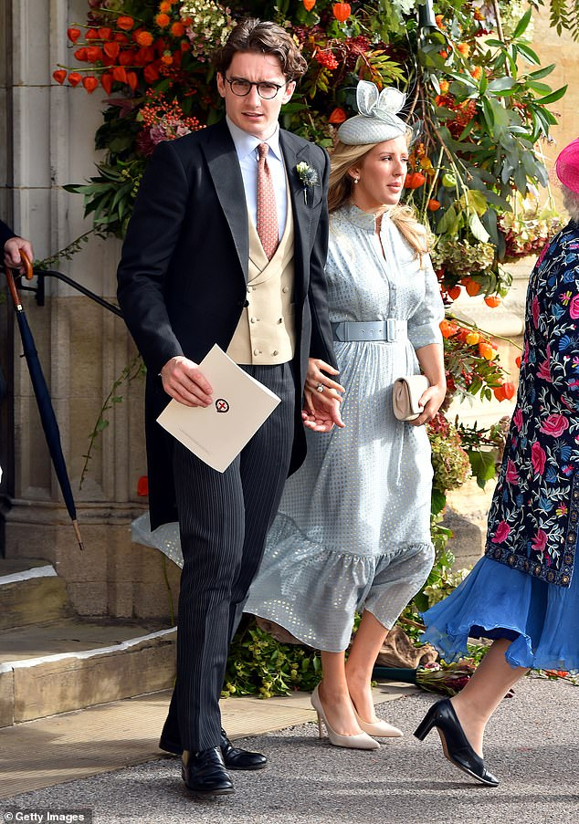 Busy: Ellie also recently revealed thatshe's found little time to plan a wedding thanks to her hectic work schedule