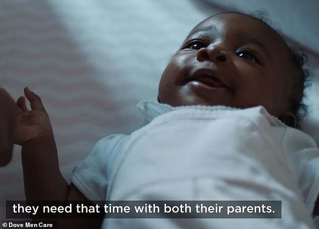 Moving forward: Dove then took its initiative one step further by starting the Dove Paternity Leave Fund and encouraging people to sign a pledge