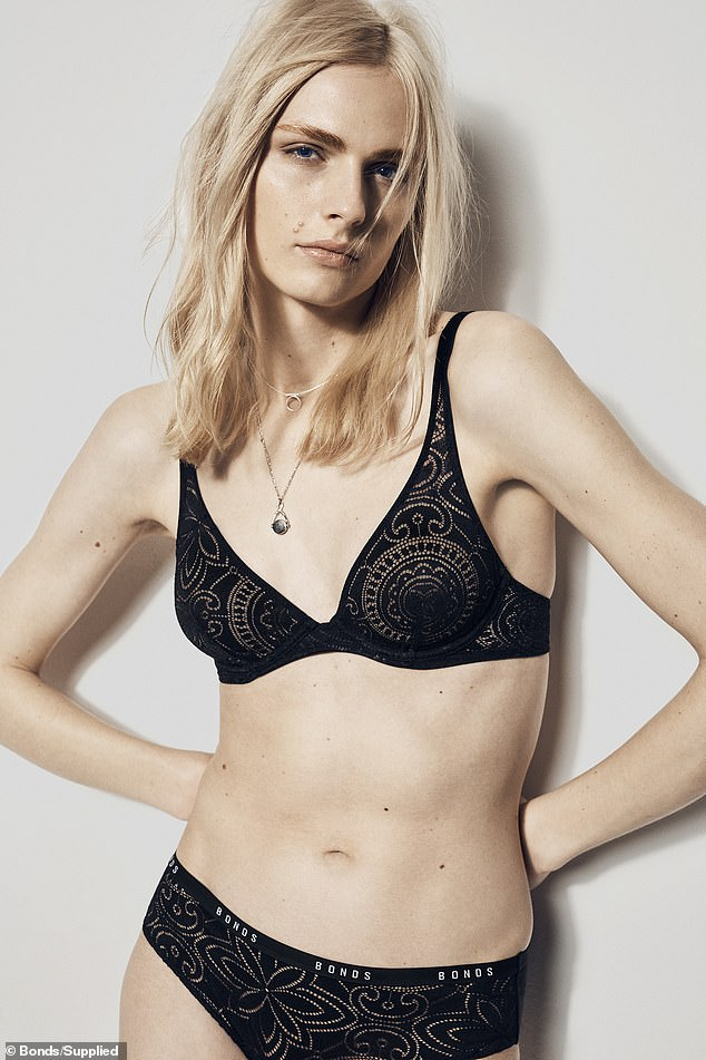 'I'm a Bonds girl... I grew up thinking I could never be one': Transgender model Andreja Pejić, 27, makes history as she becomes the newest face of the underwear giant's lingerie campaign