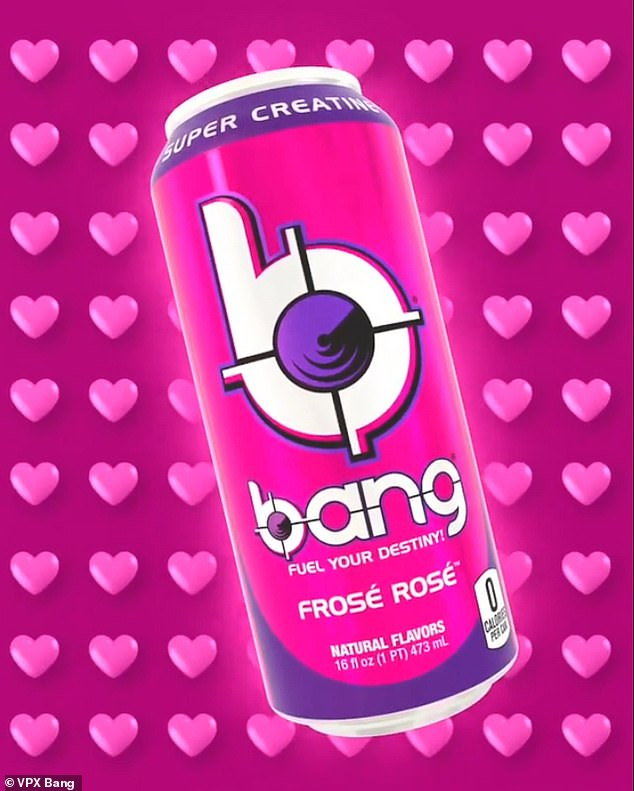 Drink up! Bang Energy launched its newest flavor, Frose Rosé, on February 15