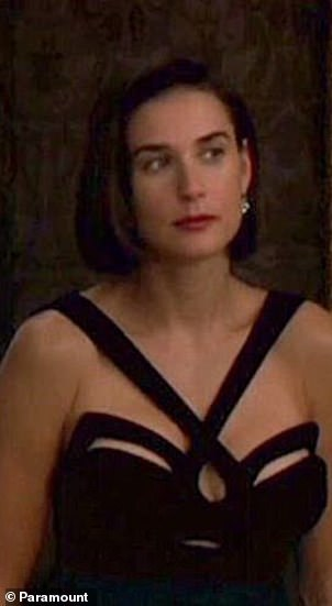 Classical style: The Strasbourg born designer is probably the best name for the iconic black black dress worn by Demi Moore in the film 1993 Indecent.