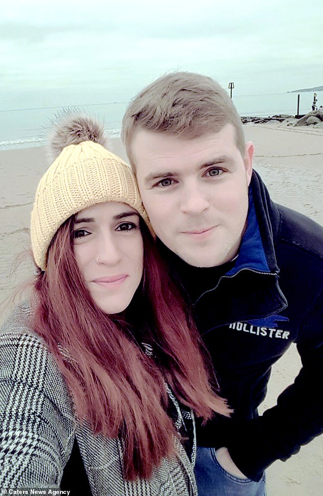 Sasha Goodman, 30, and Jay Hart, 32, have had a child together despite Ms Goodman having HIV. Ms Goodman, who already had one child before meeting Mr Hart, is speaking out about the disease to break down the stigma