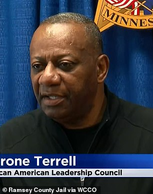 Tyrone Terrell, President of the African American Leadership Council