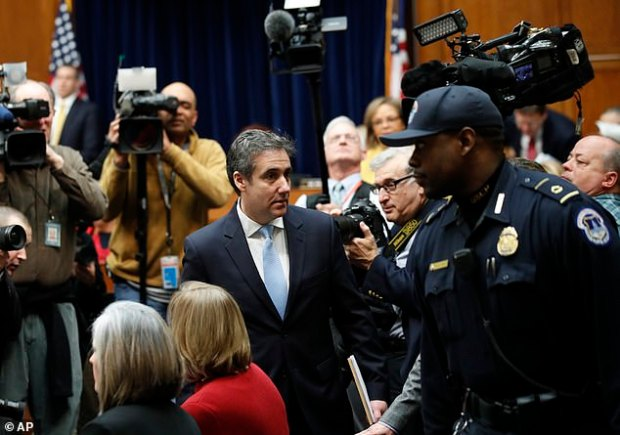 Cohen faced immediate questions about his credibility since he is a convicted felon who pleaded guilty to lying to Congress already