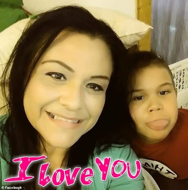 Loved: Chucky's aunt Jessiva Solis said he was always loud, bubbly, smiley and loving