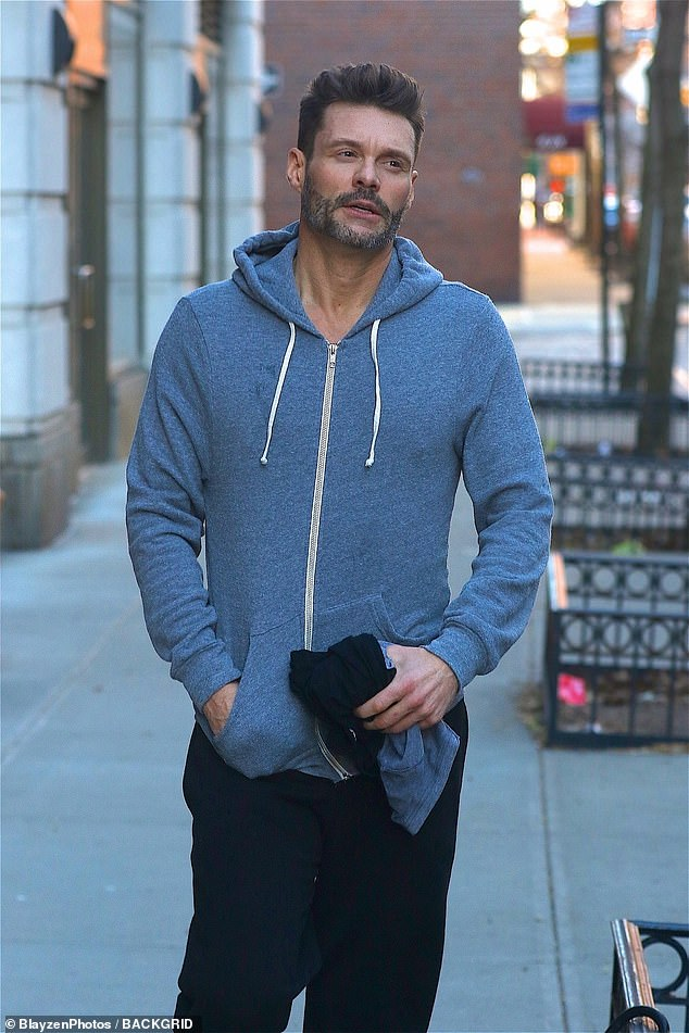 Sad day for this Hollywood guy:On Tuesday Ryan was seen looking down in the dumps as he headed to the gym in NYC