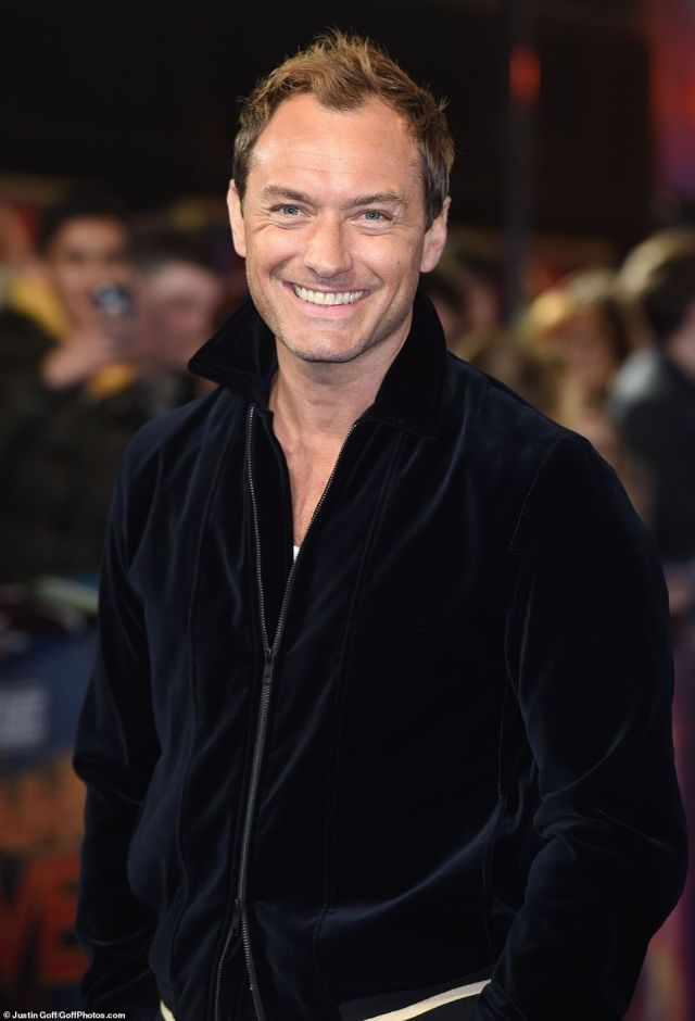 Unable to wipe he smile from his face, the British actor, who plays Yon-Rogg, looked absolutely delighted at the premiere