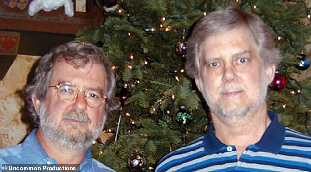 While Allison, left, was researching and desperately trying to find out how to manipulate the body's immune system to fight cancer, his older brother, Mike, right, was diagnosed with advanced prostate cancer and passed away