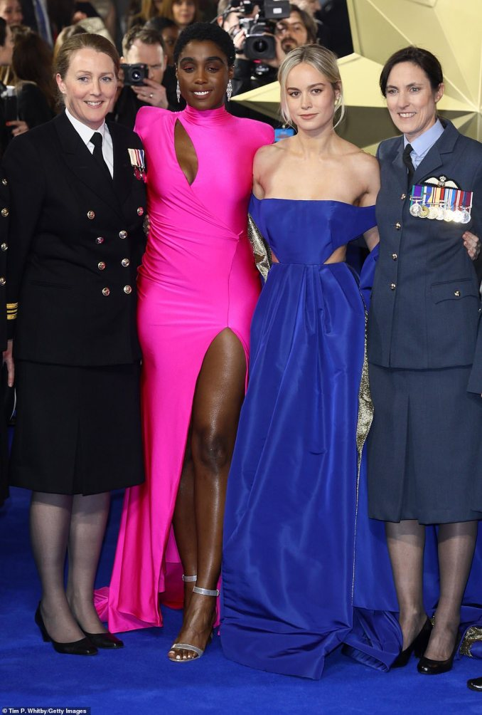 Lashana and Brie proved to have forged quite the powerful friendship as they took to the red carpet together