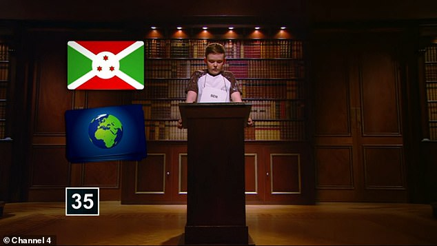Twelve-year-old Ben, from Cornwall, memorised an incredible 57 cards that had been shuffled into a random order. However the school boy was disappointed with his performance
