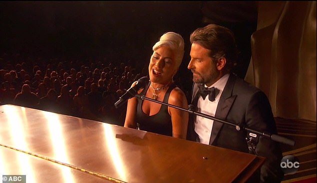 Steamy: A Star Is Born stars Gaga and Bradley set tongues wagging with their steamy duet