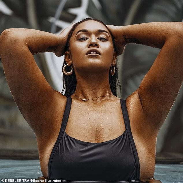 Amazing! Veronica Pome'e, 29, is the first-ever Polynesian woman cast in Sports Illustrated's Swimsuit Issue