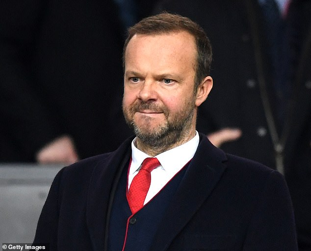 Solskjaer has been in discussions with United chief Ed Woodward over player recruitment