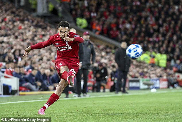 Trent Alexander-Arnold made three assists against Watford and showed his delivery capability  SEE HOW LIVERPOOL CAN DESTROY EVERTON AHEAD OF PREMIER LEAGUE DERBY 10471476 0 image a 80 1551474430095